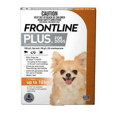 Frontline Plus Flea & Tick Treatment For SMALL Dogs  Up to 10kg - 6 pack