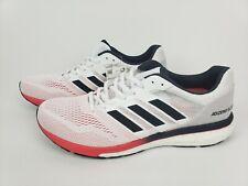 Adidas Adizero Boston 7 Boost Mens Running Shoes White Shock Red Size 11 B37381