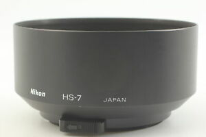 [Near MINT] Lens Hood Shade HS-7 for Nikon 105mm f2.8 D-AF Micro From JAPAN