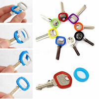 Lots 32pcs Hollow Silicone Key Cap Covers Topper Keyring With Bly Braille
