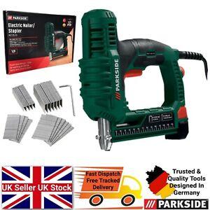 Parkside Electric Nailer & Stapler Gun Included Staples & Nails PET 25 C3 DIY