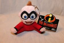 NEW WITH TAG  DISNEY PIXAR 2004 THE INCREDIBLES BABY JACK   PLUSH KEY RING