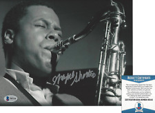 WAYNE SHORTER JAZZ SAXOPHONE ICON SIGNED AUTHENTIC 8x10 PHOTO 8 BECKETT BAS COA