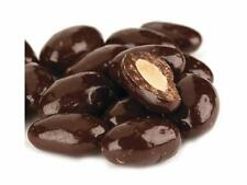 9 POUNDS Dark Chocolate Covered Almonds BULK free shipping