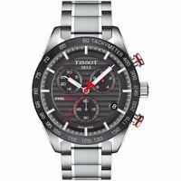 Tissot T100.417.11.051.01 PRS 516 Chronograph Men's Watch-Stainless Steel/Black