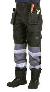 B Dri Banbury Condura High Quality multi pocketed Work Trousers Black