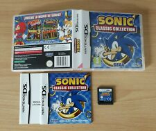 SONIC CLASSIC COLLECTION NINTENDO DS PAL ESPAÑA NDS 3DS CLASSICS 2 3 & KNUCKLES
