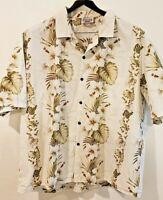 Pacific Legend Apparel  Hawaiian Aloha Hibiscus Flower Shirt Mens Size 3XL
