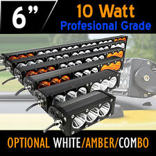 LED Work Light Bar– 30w 6 Inch with 10w CREE LED's 4x4 4WD Offroad Car,Truck.