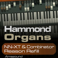 64 HAMMOND ORGANS REASON REFILL MULTI SAMPLES FOR COMBINATOR & NNXT - PC MAC