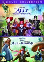 Alice Attraverso The Looking Bicchiere / IN Wonderland DVD Nuovo (BUG0262801)