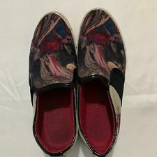 Womens 'Ted Baker' Canvas Shoes Black/Floral UK 4 [Pre-owned]