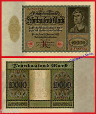 ALEMANIA GERMANY 10000 Marcos Mark 1922 Pick 70  SC- /  aUNC