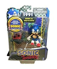 Jazwares Sonic The Hedgehog Sonic & Moto Bug Sonic 20ThAnniversary Action Figure