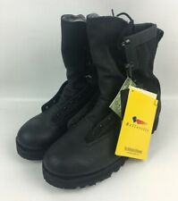 New Belleville US Army ICB GORETEX Black Leather Infantry Combat Boots 12.5 R