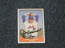 Jerry Koosman Autographed Baseball Card JSA AUCTION CERTIFIED