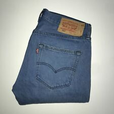 Levis 501™ 32 32 Mens Jeans Regular Straight Original Fit Bright Blue Denim