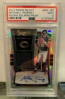 2017 Panini Select MITCHELL TRUBISKY AUTO RC Signature Relic SP /49 PSA 9 Bears