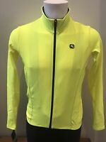 Giordana Cycling Long Sleeve Jersey Fusion Yellow Fluo|BRAND NEW