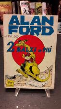 "Alan Ford #25 ""2 Balzi in Più""  Magnus Bunker 1° ed. Corno"