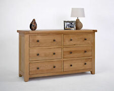Oak More than 6 Unbranded Traditional Chests of Drawers