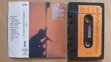 U2 – Under A Blood Red Sky YUGOSLAVIA TAPE ORIGINAL 1988.. FREE SHIPPING