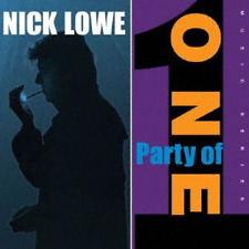 NICK LOWE-PARTY OF ONE-IMPORT LP+7INCH VINYL WITH JAPAN OBI Ltd/Ed I98