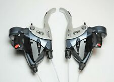 SHIMANO DEORE LX BICYCLE 9 X 3 SPD INDICATOR WINDOW SHIFTER BRAKE LEVERS ST-M570