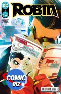 ROBIN #7 (2021) 1ST PRINTING BAGGED & BOARDED DI MEO MAIN COVER DC COMICS