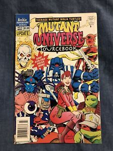 Archie Adventure Teenage Mutant Ninja Turtles Mutant Universe Sourcebook #2