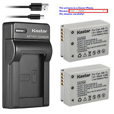 Kastar Battery Slim Charger for Canon NB-7L NB7LH Canon PowerShot SX30 IS G10 IS