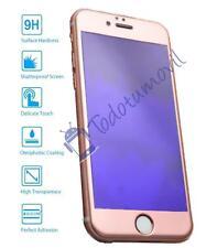 Protector de Pantalla Cristal Templado COMPLETO 3D para Apple IPhone 7 Oro Rosa