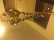 9ct Gold Vintage Ladies Rotary Bracelet Watch-Superb! 12.09g
