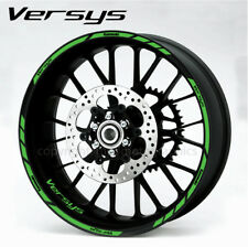 Versys 650 1000 quality wheel decals stickers rim stripes Kawa green