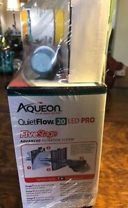 Aqueon 29 gallon aquarium kit (filter and heater)