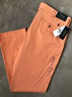 """RALPH LAUREN POLO ORANGE M CLASSICS BEDFORD CHINOS TROUSERS PANTS  38""""  NEW TAGS"""