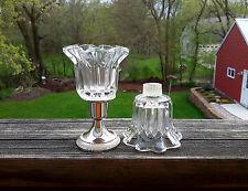 2 PartyLite P0315 Chantilly Peglite Peg Votive Cup Candle Holder W/Grommets