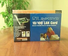 NEW --never opened-- Linksys EtherFast 10/100 Lan Card -- ONLY $12.50!