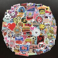 100Pcs Cool Skateboard Sticker Bomb Vinyl Luggage Laptop Car Decals Dope Pack
