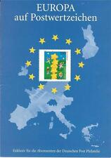 Germany-Europa First Day Card In Official Holder Issued May 12, 2000 Great Item