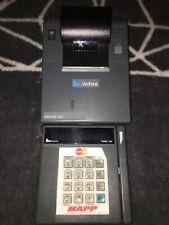 Verifone 250 Printer And Verifone Tranz 330 Card Reader Read Below missing cords