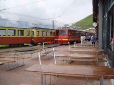 PHOTO  SWITZERLAND KL. SCHEIDEGG WAB TRAM  JB STOCK INC 212