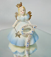 VTG 1980 Josef Originals 9 NINE YEAR BIRTHDAY Girl ANGEL Princess Doll Figurine!