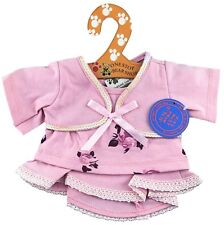 """Pink Flower Skirt Outfit Fits Build A Bear Workshop 12"""" - 16"""" Teddy Bears"""