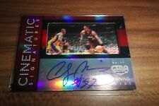 2015-16 Panini GALA Alonzo Mourning Cinematic Signatures ON CARD AUTO Red /10