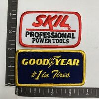 GOODYEAR Car Tire Advertising Patch & SKIL POWER TOOLS 00X