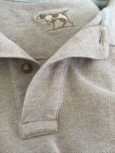 Rodd & Gunn Original Fit (Oversized) Mens Polo Latte Size M More Like L
