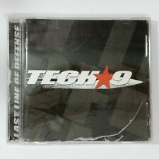 TECH9 Last Line of Defense SEALED CD Compact Disc Cracked Case & Split in Seal