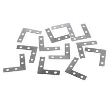 100 38mm L Shape Corner Brace Plate Right Angle Bracket Photos Frame Bracket
