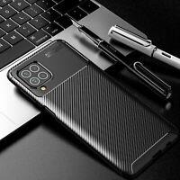 Case for Samsung Galaxy F62 CarbonFiber Shockproof Soft Armor Cover M62 SM-M625F